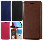 For LG Aristo Premium Photo Wallet Case Pouch Flap STAND Cover +Screen Protector