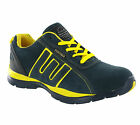 Groundwork Mens Safety Trainers Lace Up Steel Toe Lightweight Durable Work Shoes <br/> !!! ✅✅ 1 x FREE PAIR SOCKS WITH EACH ORDER ✅ ✅ !!!