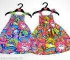 Girls Summer Dresses Girls Strappy Dress Holiday Beach Pool Dress 2 3 4 5 6 yrs