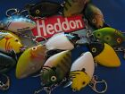 Heddon Fishing Lure Keychain Quality Boat Key Choice of Colors Punkinseed