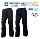 Regatta Mens Chandler Waterproof Trousers Lined 100% Windproof Breathable