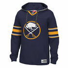 Buffalo Sabres Reebok Jersey Speedwick Pullover Hoodie Navy NHL