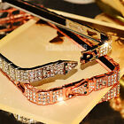 Bling Crystal Rhinestone Diamond Metal Bumper Case Cover For iPhone X XR 6s 7 8+