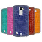 HEAD CASE DESIGNS CROCODILE SKIN PATTERN HARD BACK CASE FOR LG PHONES 3