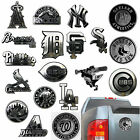 New MLB Pick Your Team 3D Chrome Plastic Auto Car Truck Emblem Sticker Decal on Ebay