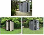 Keter Manor Apex Plastic Shed - Choice of Size and Colour From Argos ebay