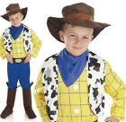 Cowboy Costume - Woody Kids Childrens Fancy Dress For Book Week Boys