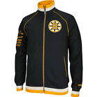 Boston Bruins Reebok NHL Men's CCM Applique Track Jacket Stanley Cup Champions