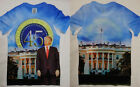 Donald Trump 45th President Front And Back Sublimation USA Flag T-Shirt