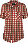 Klim Downtime Short Sleeve Shirt Red Men's S-3XL