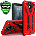 HTC Bolt Case Cover Kickstand Protector Shockproof Dual Layered
