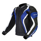 Spada Curve Leather Sport Race motorcycle Jacket Black/Blue