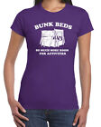 069 Bunk Beds womens shirt step movie brothers funny quote vintage activities