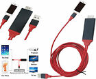 8 Pin Lightning HDMI HDTV Adapter Cable For 5G 5S SE 5C 6 6S 6+ 7G 7+  iPad Mini