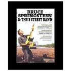 BRUCE SPRINGSTEEN - UK Tour 2012 Matted Mini Poster