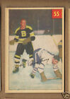 1954-55 Parkhurst Hockey Card BOB ARMSTRONG Boston Bruins #55