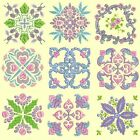 Anemone Quilt Squares 5 Machine Embroidery CD-36 Designs-by Anemone Embroidery