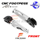 For MV Agusta Brutale 675 2012-2015 12 13 14 15 FRW CNC Billet Front Footpegs