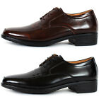 New Mooda Premium Mens Leather Dress Formal Lace Up Shoes Black Brown