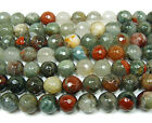 African Blood Quartz Faceted Gemstone Beads~Guaranteed