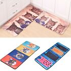 New Door Mat Cute Cartoon Cat Kitchen Doormat Bathroom Antislip Carpet Porch Rug