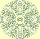 CELTIC QUILT CIRCLE SINGLES -Design 13- from Anemone Machine Embroidery-4 SIZES