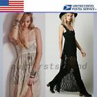 Wedding Bridesmaid Engagement Cocktail Formal Evening Prom Party Lace Midi Dress