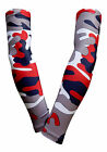PAIR of Compression Sports Arm Sleeves Sleeve Camo Baseball Football Basketball