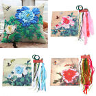 Butterfly Peony Flowers DIY Ribbon Embroidery Kit Sewing Tool Kit Cushion Covers