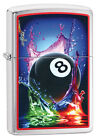 Personalised Mazzi Design 8 Ball Zippo Lighter Engraved Gift £31.99 GBP on eBay