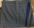 GG BLUE ~WOMAN'S ~ BLACK PATTERNED ~COOL MAX GOLF SKORT ~ SIZE 14 NEW