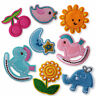 Baby Themed Iron/Sew on Appliques Embroidered Patches Craft Motifs Scrapboking