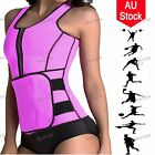 Neoprene Sauna Waist Trainer Vest Shaper Adjustable Sweat Belt Bustiers Corsets