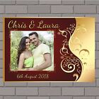 Personalised Congratulations Wedding Engagement PHOTO Poster Print Banner N151