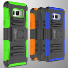 Hybrid Kickstand Case & Holster for Samsung Galaxy S8 Plus Belt Clip Phone Cover