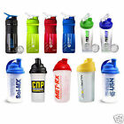 SHAKER BOTTLE PROTEIN MIXER EAS USN SCI-MX MET-RX EAS REFLEX MAXIMUSCLE