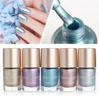 9ml Metallic Nail Polish Mirror Effect Shiny Metal Varnish Manicure DIY 5 Colors