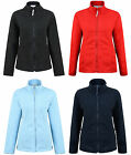 LADIES FLEECE JACKET OUTDOOR WORKWEAR FULL ZIP TOP XL 2XL 3XL 4XL BNWT