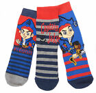 Boys Jake and the Neverland Socks Sizes 3-.5.5 6-8.5 or12.5-3.5 Fabulous Quality