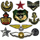 Military Army Patches Aufbügler AUFNÄHER Patch Bügelbilder Airforce Neu 3309