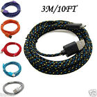 Внешний вид - 3M/10FT Hemp Rope Micro USB Charger Charging Sync Data Cable Cord for Cell Phone