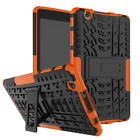 """Shockproof Rugged Hybrid Hard Tyre Tread Case Cover For LG G PAD 8.0"""" Tablet"""