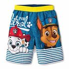 PAW PATROL CHASE UPF-50+ Bathing Suit Swim Trunks Toddler's Sz. 2T, 3T or 4T $22