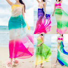 Summer Women Beach Colorful Sarong Dress Wrap Swimwear Beach Cover Up Scarf New