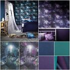 MAGICAL KINGDOM & GLITTERATI BLUE, GREEN, PURPLE GLITTER ARTHOUSE WALLPAPER