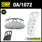 OA/1072 OMP AUTOMATIC AUTO LONG PEDAL SET ALUMINIUM ANTI-SLIP RUBBER INSERTS