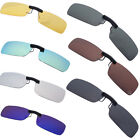 Fashion Men Women Unisex Sunglasses Polarized Clip On Flip Up Driving Glasses