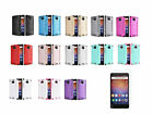 Tempered Glass+Brushed Hybrid PC TPU Case Cover For Huawei Ascend XT Phone