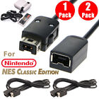 2X 1X 6ft/1.8m Extension Cable for Nintendo NES Mini Classic Edition Controller
