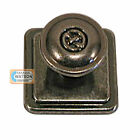 25mm Galway Celtic Pewter Bedroom Drawer Cabinet Door Pull Knob Handle Antique